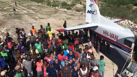 New Airstrip Unites Haitian Community and FBC Gettysburg