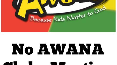 Awana Plan through April